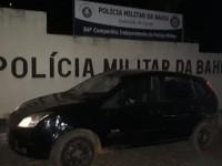 Caculé: Veículo roubado na madrugada desta segunda (25) é encontrado em Condeúba.