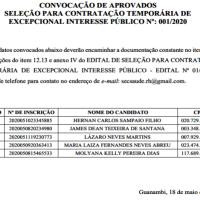 Prefeitura de Guanambi divulga resultado final da seleção e convocação de 5 médicos. - Foto 1