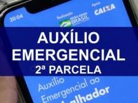 Auxílio emergencial: segunda parcela é creditada pela Caixa em contas dos beneficiários.