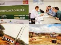 Comunidades rurais de Mucugê celebram a chegada da energia elétrica.