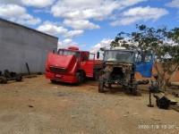 Guanambi: PM desarticula desmanche de caminhões furtados.