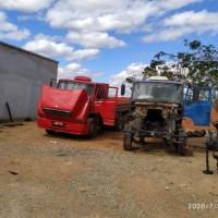 Guanambi: PM desarticula desmanche de caminhões furtados. - Foto 1