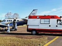Paciente com Covid-19 internada em Guanambi foi transferida em UTI Aérea.