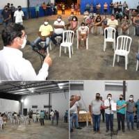 Prefeito Jairo Magalhães anuncia construção de praça no Bairro São Sebastião.   - Foto 1