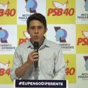 PSB lança João Pedro como pré-candidatura à prefeitura de Palmas de Monte Alto.