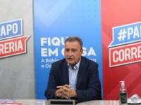 Rui Costa não confirma terceira parcela do vale-alimentação.