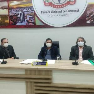 Câmara de Guanambi reabre os trabalhos Legislativos do 2º semestre de 2020.