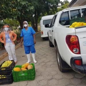 Cooperativa de produtores do projeto de Ceraíma distribui alimentos para entidades filantrópicas.