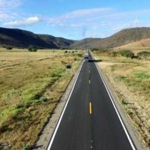 Governo federal entrega recuperação de 84 km na BR-030 entre Brumado e Guanambi.