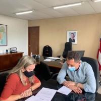 Ivana busca investimentos para a ampliação da oferta hídrica nos municípios. - Foto 1