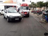 Colisão envolvendo três veículos é registrada em Guanambi.