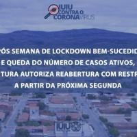 Prefeitura de Iuiú autoriza reabertura do comércio com restrições após semana bem-sucedida de 'lockdown'. - Foto 1