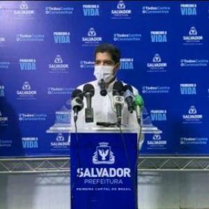 Salvador vai doar respiradores ao interior para diminuir ocupação de leitos na capital.