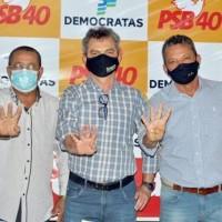 Convenção confirma candidatura de Dr. Pedro e Nozinho à prefeitura de Sebastião Laranjeiras. - Foto 1