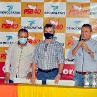 Convenção confirma candidatura de Dr. Pedro e Nozinho à prefeitura de Sebastião Laranjeiras. - Foto 2