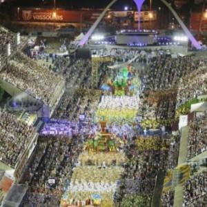 Desfiles das escolas de samba do Rio de Janeiro é adiado.