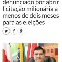 Prefeito de Guanambi é denunciado por abrir licitação milionária a menos de dois meses para as eleições.   - Foto 1