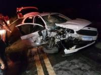 Acidente com carro da secretaria de Riacho de Santana deixa uma pessoa morta na BR-030.