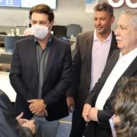 Em São Paulo, Nilo cumpre agenda de trabalho e é recebido pela diretoria da Azul Linhas Aéreas. - Foto 2