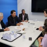 Em São Paulo, Nilo cumpre agenda de trabalho e é recebido pela diretoria da Azul Linhas Aéreas. - Foto 3