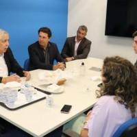 Em São Paulo, Nilo cumpre agenda de trabalho e é recebido pela diretoria da Azul Linhas Aéreas. - Foto 4