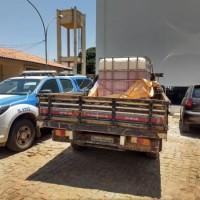 Matina: irmão de candidato a prefeito é flagrado com mil litros de combustível. - Foto 1