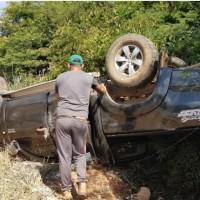 Ex-deputado Márcio Oliveira sofre acidente na BA-156 em Caetité - Foto 1