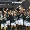 Palmeiras vence o Santos com gol nos acréscimos e é campeão da Libertadores.