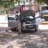PRF apreende carro roubado e com placa fria na BR-030 em Caetité.