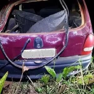 Acidente automobilístico deixa homem ferido na BR-030 em Palmas de Monte Alto.