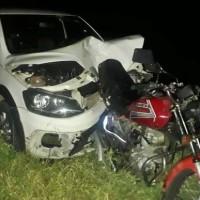 Motociclista morre após acidente entre carro e moto próximo ao trevo de Mutans. - Foto 3