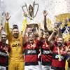 Flamengo bate Palmeiras nos pênaltis e é bicampeão Supercopa do Brasil.
