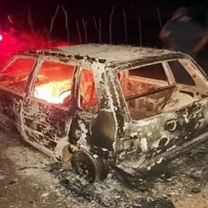 Vereadores são sequestrados e têm carro incendiado no sertão baiano.