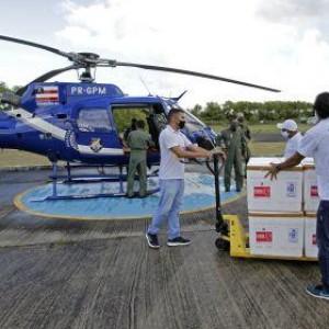 Bahia recebe na sexta lote com 566.750 doses de vacinas para aplicação da 2ª dose.
