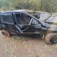 Caetité: uma pessoa morre e outra fica ferida em acidente na BR-122. - Foto 1