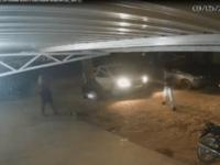 Vídeo mostra momento em que homem é morto e mulher baleada em Iuiú.