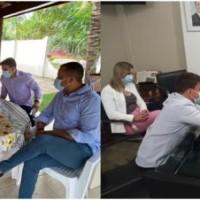 Ex – candidato a prefeito João Pedro vai a Salvador em busca de recursos para Palmas de Monte Alto. - Foto 1