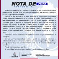 Guanambi registrou mais quatro óbitos e 116 novos casos da Covid-19 nesta quarta-feira. - Foto 1