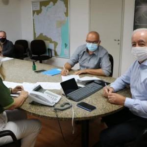 Assinada carta compromisso para obras de iluminação em Novo Horizonte.