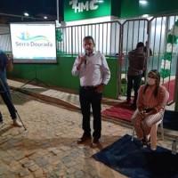 Deputado Charles Fernandes participa da inauguração do Hospital Municipal em Serra Dourada e anuncia recursos para o município. - Foto 4