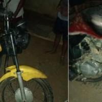 Homem morre e dois ficam feridos após colisão entre motos em Malhada. - Foto 1