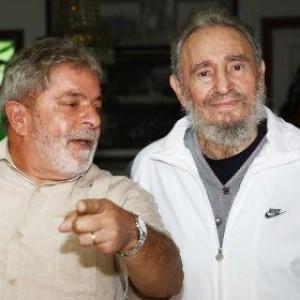Livro revela que Fidel Castro ajudou Lula a superar depressão e não desistir da política.