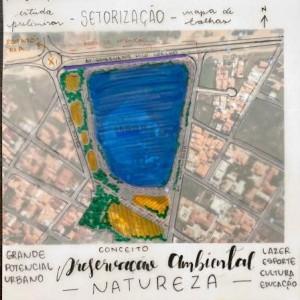 Pesquisadora cria projeto de revitalização da Lagoa de João Amaral em Guanambi.