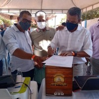 Deputado Charles Fernandes destaca importância da pavimentação asfáltica de trecho da BA-160 em Iuiu. - Foto 3