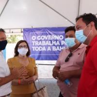 Deputado Charles Fernandes destaca importância da pavimentação asfáltica de trecho da BA-160 em Iuiu. - Foto 5