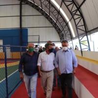 Deputado Charles Fernandes destaca importância da pavimentação asfáltica de trecho da BA-160 em Iuiu. - Foto 7