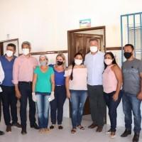 Ivana e Governador entregam grandes investimentos para Iuiu. - Foto 1