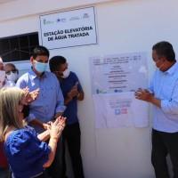 Ivana e Governador entregam grandes investimentos para Iuiu. - Foto 2