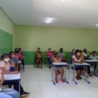 MATINA: Secretaria de Educação realiza formação para motoristas, acompanhantes do transporte escolar, merendeiras e auxiliares. - Foto 6