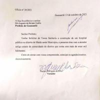 A pedido do vereador Zaqueu Rodrigues, Nilo Coelho autoriza construção de Hospital Público no distrito de Mutans. - Foto 1